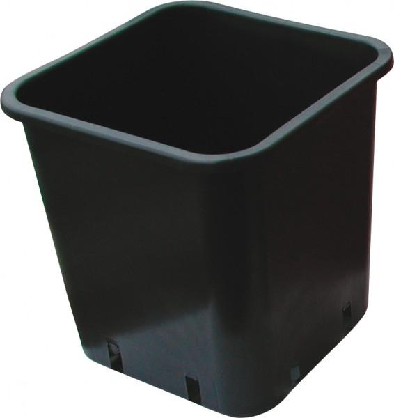 Pflanzentopf Plastik - 25x25x26cm / 13 Liter