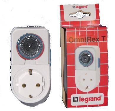 Legrand - Omni Rex T - Zeitschaltuhr analog 16A