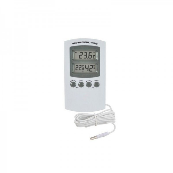 Hygro-/Thermometer digital mit Sonde - 2P