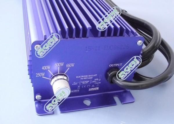 EVSG LUMATEK - 600W schaltbar ohne Fan