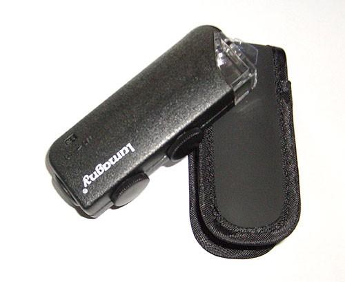 Taschenmikroskop/Lupe - mit LED-Licht