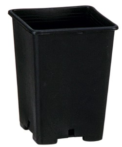 Pflanzentopf Plastik - 15x15x20cm / 3.6 Liter