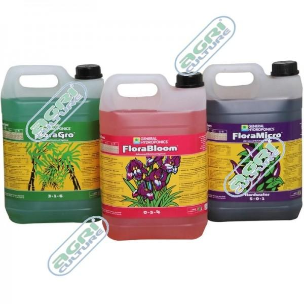 GHE - Flora Serie Micro 5L (C) (hartes Wasser)