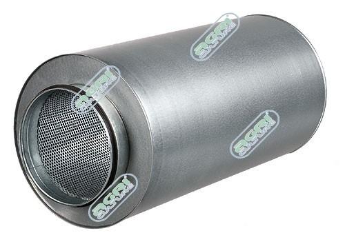 Rohrschalldämpfer 125mm/90cm