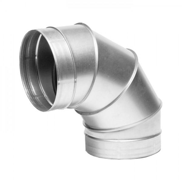 Bogenstück - Winkel 90° - 125 mm