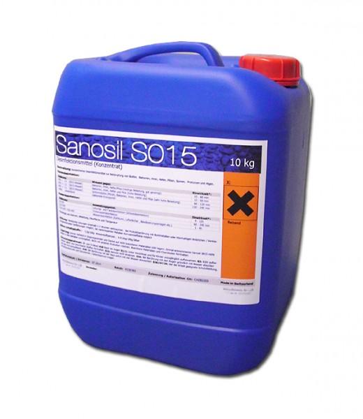 Sanosil S015 Konzentrat - 10 Liter